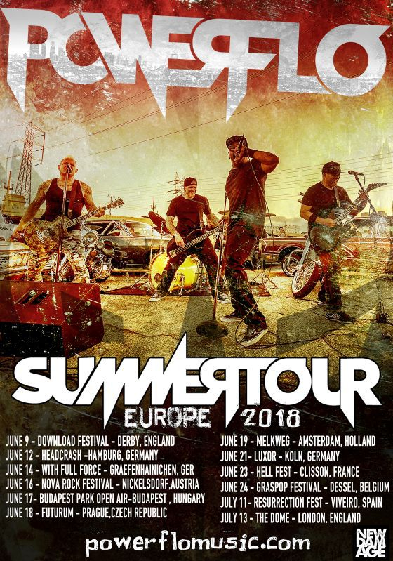 Powerflo Tour Dates