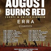 AUGUST BURNS RED in autumn