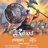 RIOT V announced some tour dates for Europe