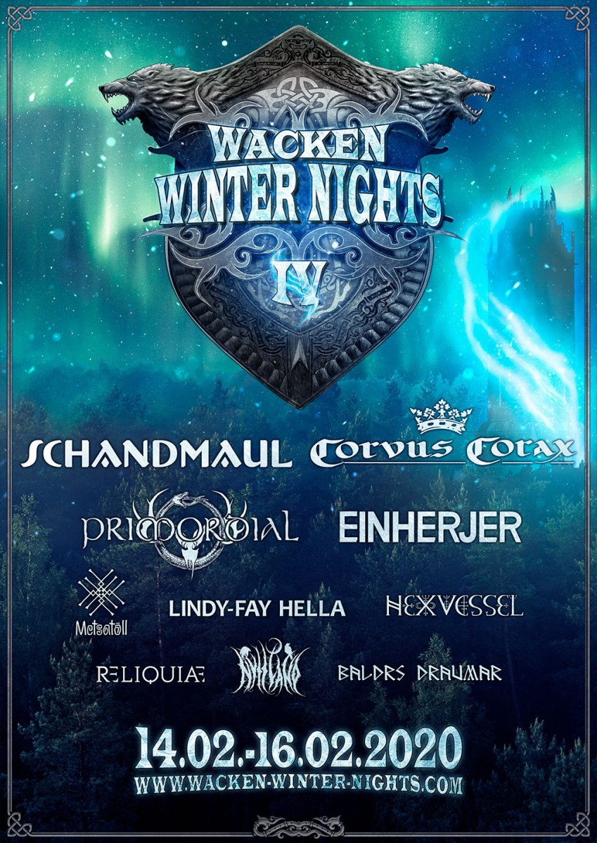 Even before summer starts,  first bands for WACKEN WINTER NIGHTS are announced