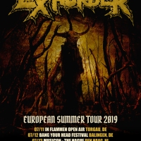 EXHORDER announces European tour dates