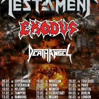 TESTAMENT, EXODUS & DEATH ANGEL team up for 'The Bay Strikes Back' European Tour 2020