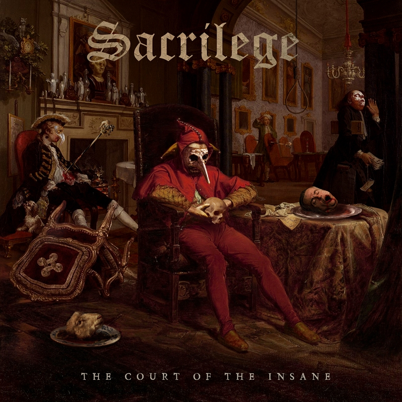CD review SACRILEGE 'The Court of the Insane' – Markus