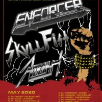 ENFORCER, SKULL FIST & AMBUSH - the 'Kings of the Underground' on tour in May
